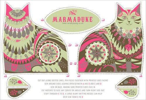 Marmaduke the Cat Tea Towel / Cloth Kit