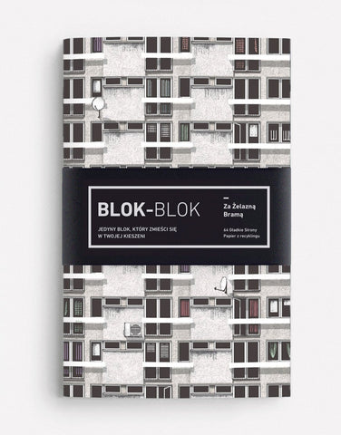 Notebook Blok-Blok by Zupagrafika