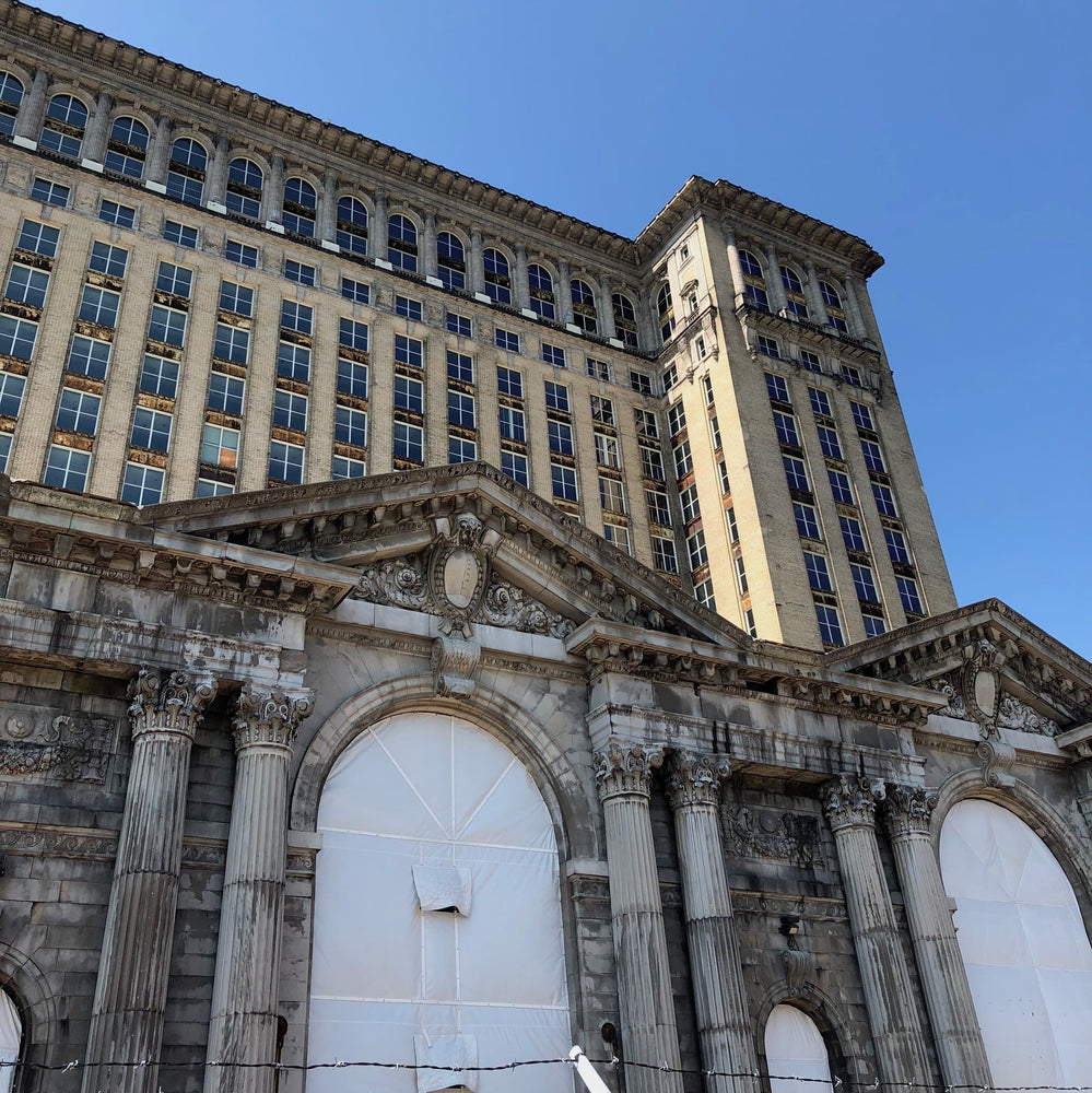 Michigan Central Station | Antonio Cuff Links