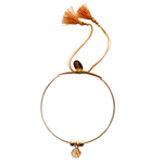 Bianca Bracelet - Orange/Yellow - Gold