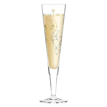 Ritzenhoff Champus Champagne Glass A. Schiewer