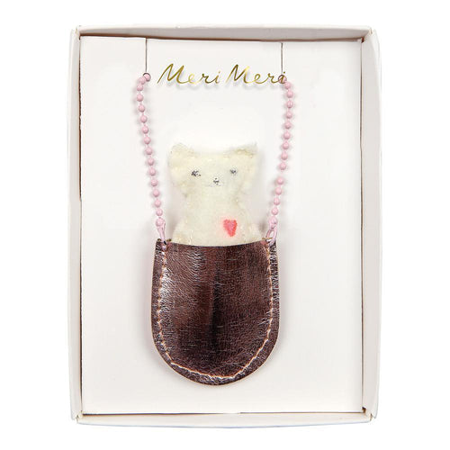 Meri Meri Cat Pocket Necklace