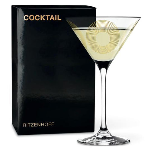 Ritzenhoff Cocktail Glass Jacquart(circle)