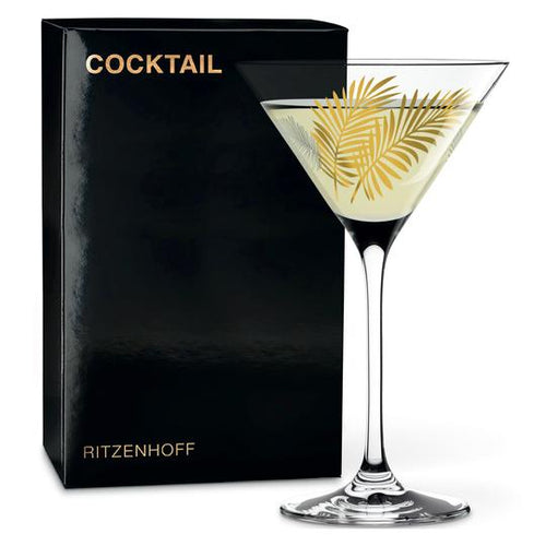 Ritzenhoff Cocktail Glass Stockebrand(leaves)