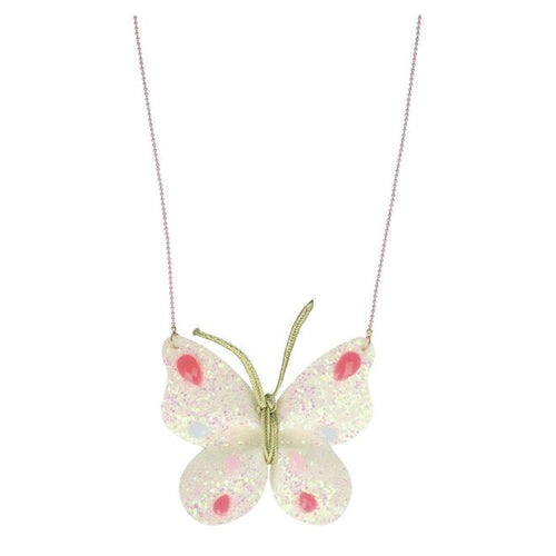 Meri Meri Glitter Butterfly Necklace