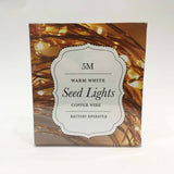 Seed Lights - 5m Copper - Battery
