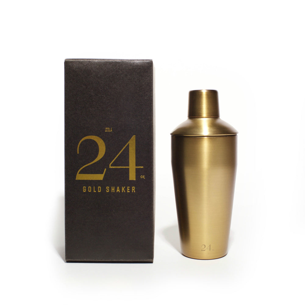 Izola Gold Cocktail Shaker 24oz.