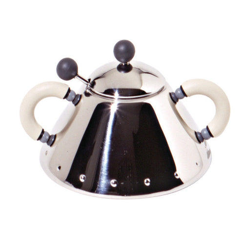 Alessi MG Sugar bowl with Spoon