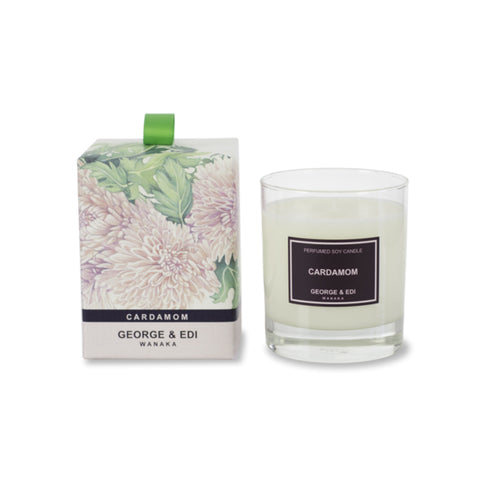 George and Edi Limited Edition Cardamom Candle