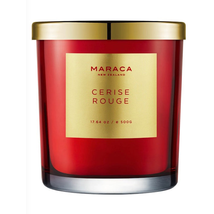 Maraca Luxury Candle - Cerise Rouge *limited edition*