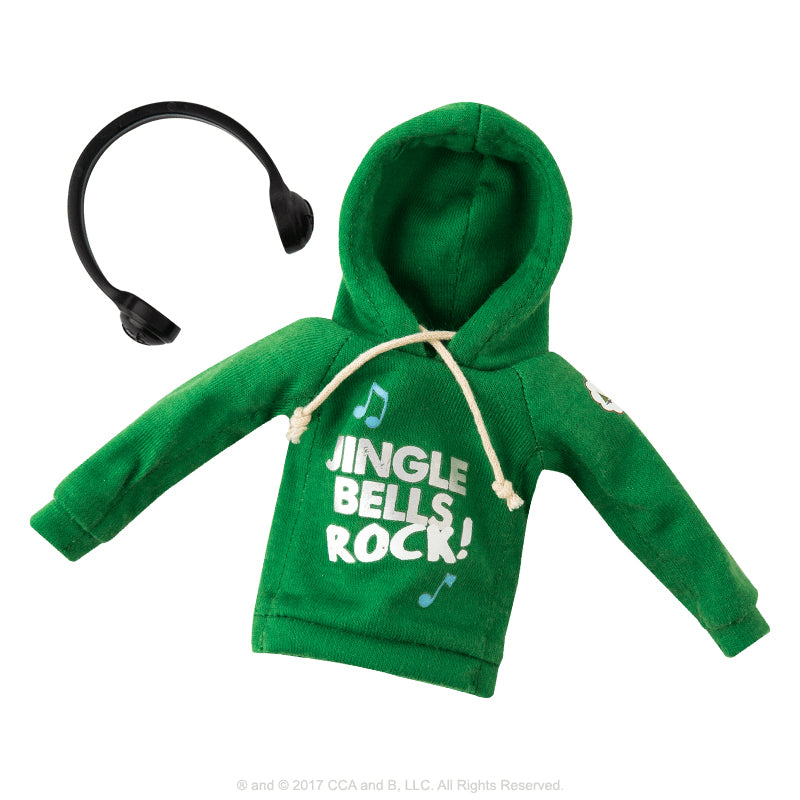 Elf Scout Claus Couture Jingle Jam Hoodie