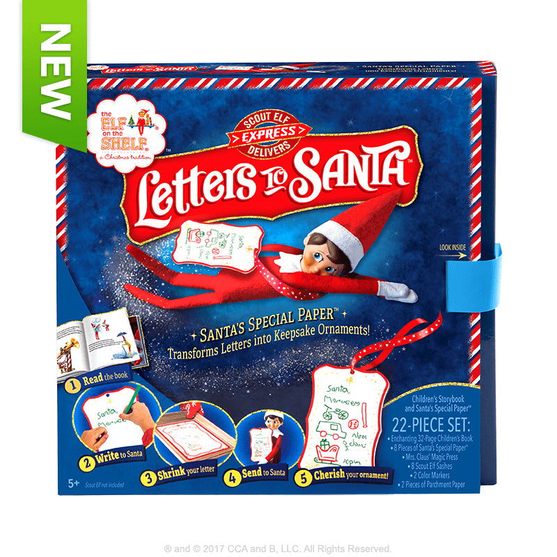 Elf Scout - Letters to Santa