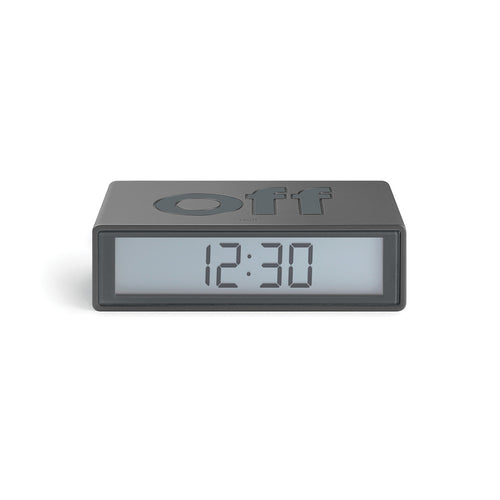 Lexon Flip Travel Alarm Clock