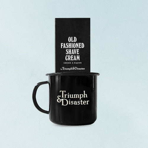 Triumph & Disaster Mug & Shave Kit