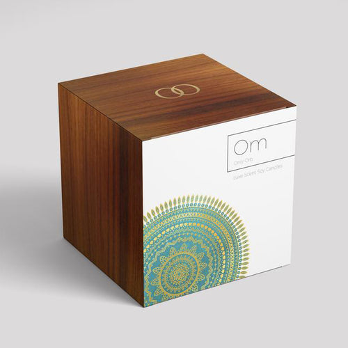 Only Orb Glass Emerald - Om Candle