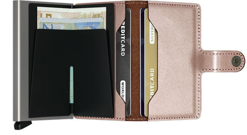 Secrid Miniwallet - Rose Metallic