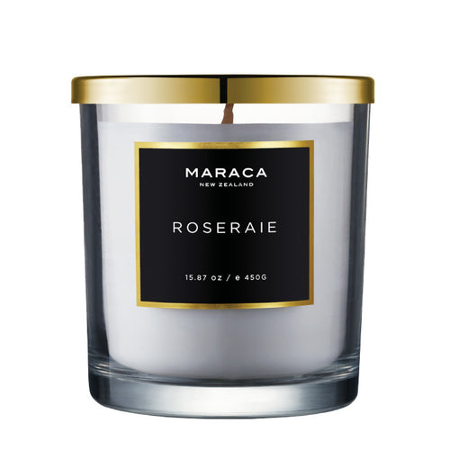 Maraca Luxury Candle - Roseraie