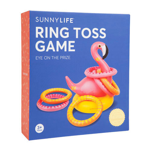Sunnylife Inflatable Ring Toss Flamingo