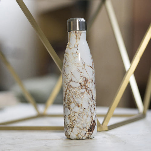 S'well Insulated Bottle - Calacutta Gold
