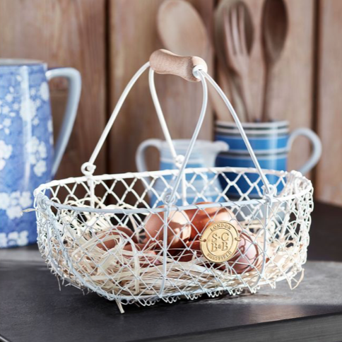 Sophie Conran Small Buttermilk Harvesting Basket