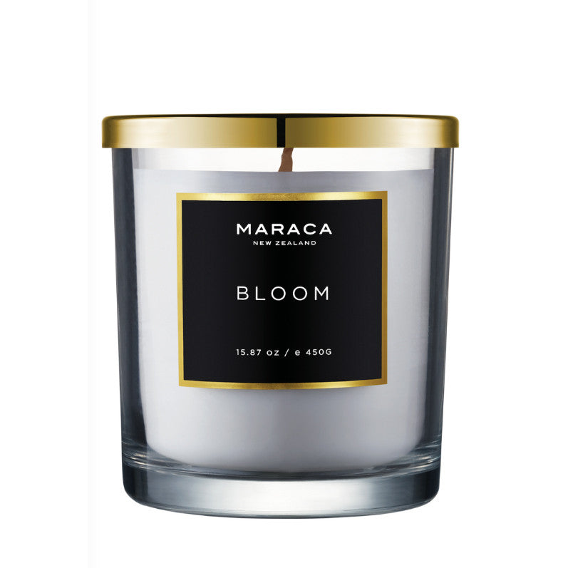 Maraca Luxury Gift Set Candle & Hand and Body Lotion - Bloom