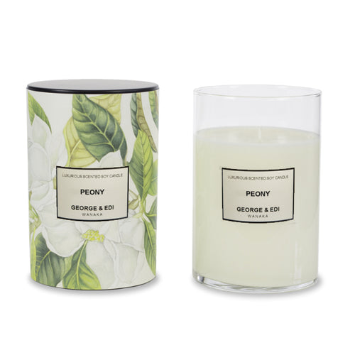 George and Edi XL Candle