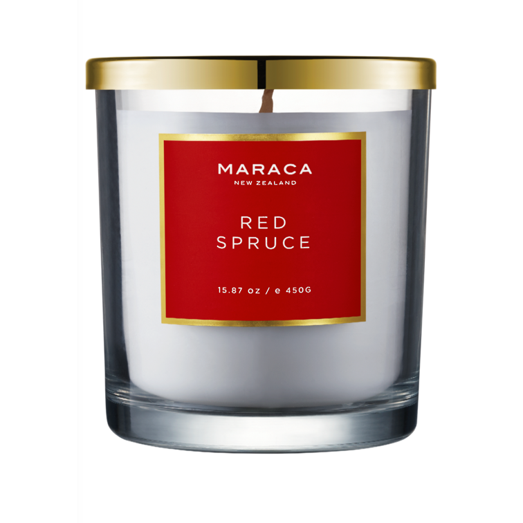 Maraca Luxury Candle - Red Spruce