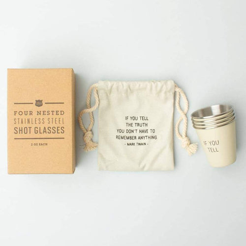 Izola Twain Shot Glass Set