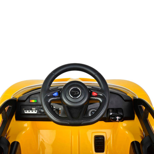 Toyrific Electric MCLAREN MP1 12V Yellow