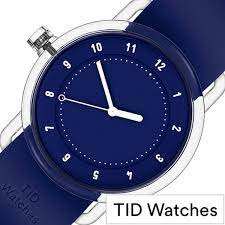 TID WATCH No.3 38mm Blue/ Blue Silicone Wristband