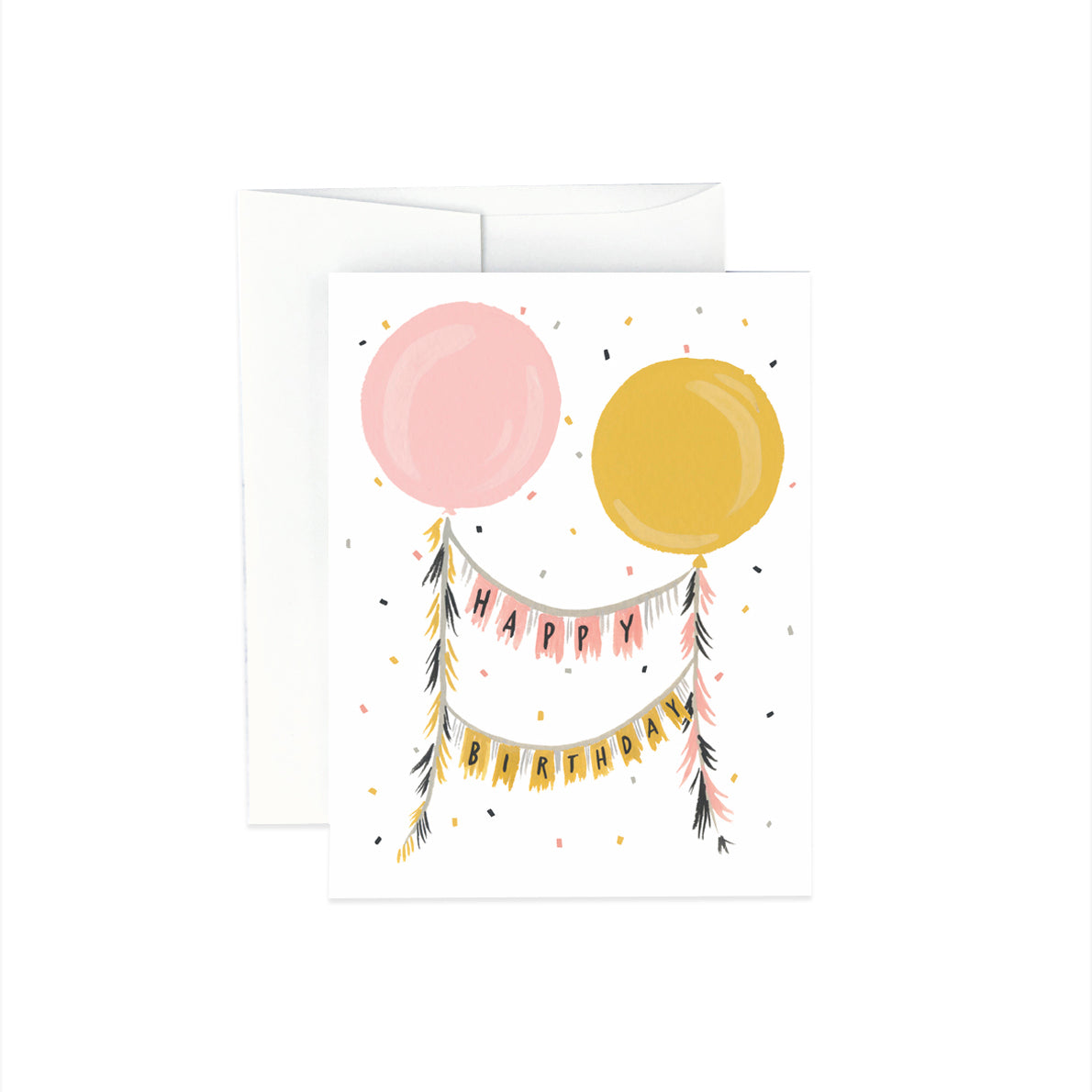 Gift Card - Happy Birthday Balloons