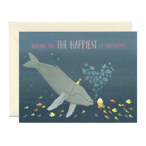 Gift Card - Whale Happy Birthday