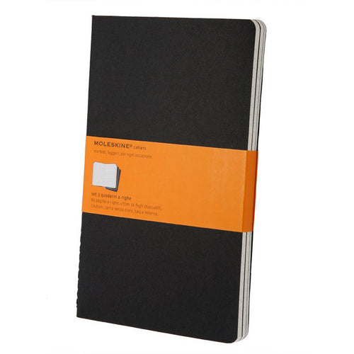 Moleskine Cahier Set of 3 Ruled Large