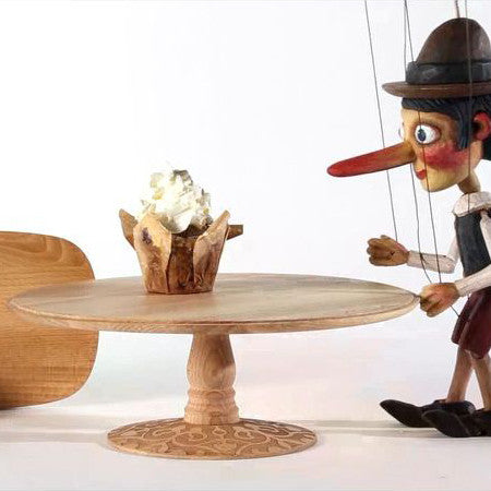 Alessi Dressed In Wood Stand