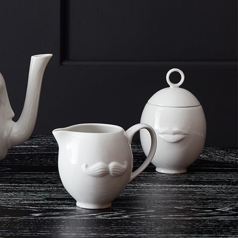 Jonathan Adler Muse Mr & Mrs Reversible Teapot