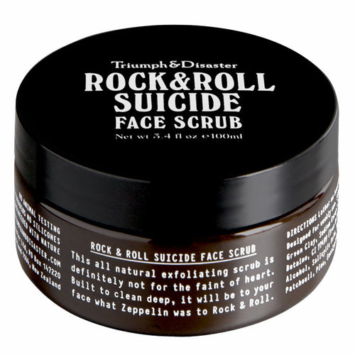 Triumph & Disaster Roll and Roll Suicide Face Scrub