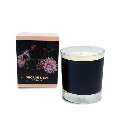 George and Edi Soy Candle Liquorice