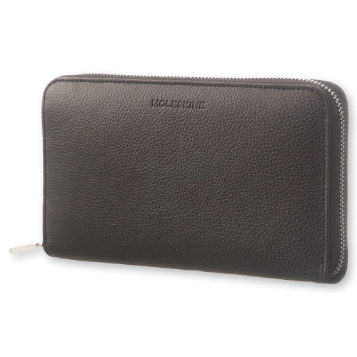 Moleskine Leather Lineage Zip Wallet