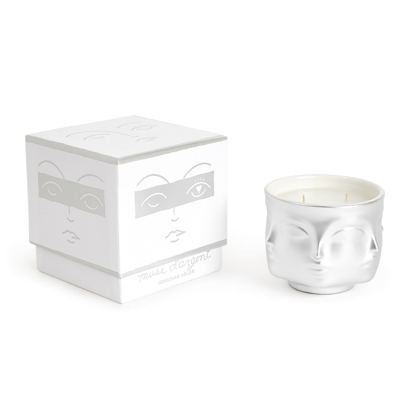 Jonathan Adler Muse D Argent Candle