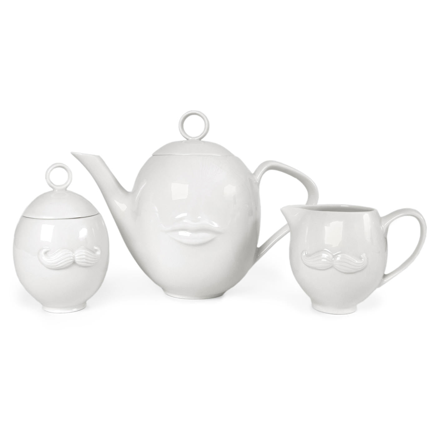 Jonathan Adler Mr & Mrs Sugar & Creamer Set