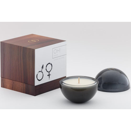 Only Orb Glass Graphite - OH! Candle