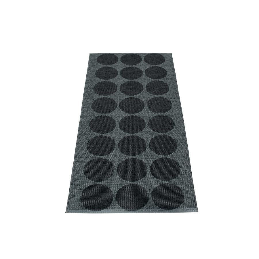 Pappelina Rug - Hugo - Black Metallic