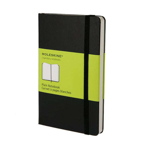 Moleskine Plain Notebook Hard Cover Large