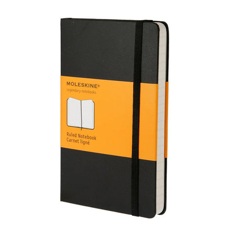 Moleskine Ruled Notebook Soft Cover Pocket