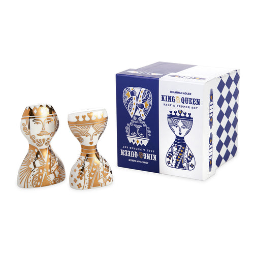 Jonathan Adler King & Queen Salt and Pepper