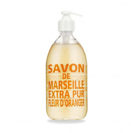 Savon de Marseille Liquid Soap Orange Blossom 500ml