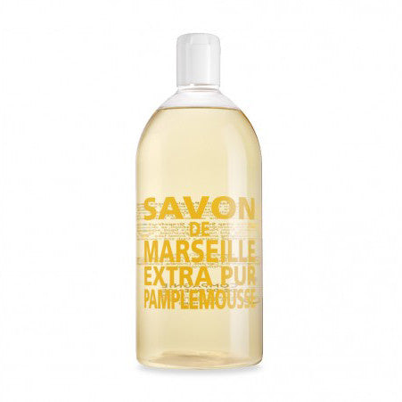 Savon de Marseille Liquid Soap Refill Summer Grapefruit
