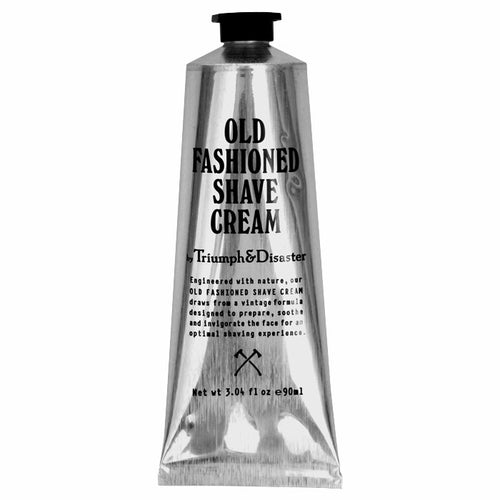 Triumph & Disaster Old Fashioned Shave Cream 90ml Tube