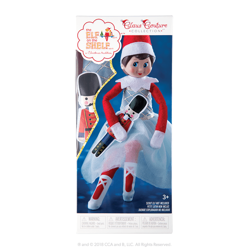 Elf Scout Claus Couture Snowy Sugar Plum Duo