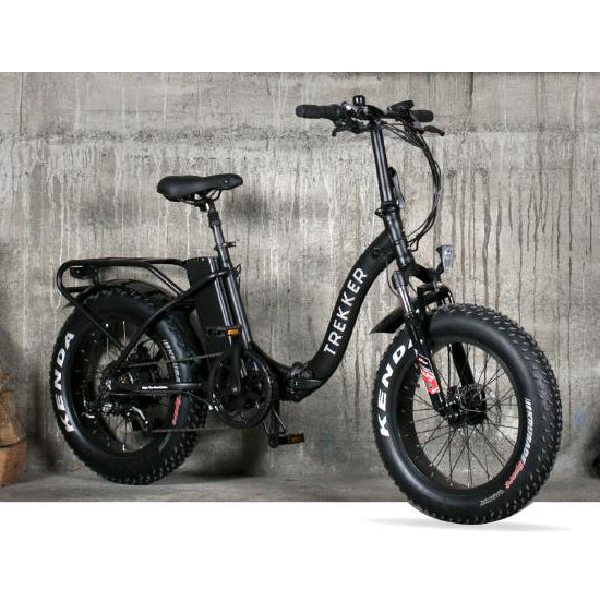 The Trekker is a foldable E-bike perfect for the space conscious.  Featuring a rechargeable battery, the Trekker is stylish, economical & environmentally friendly. Electric bikes by New Zealand's Cool Bikes.  Perfect for your daily commute or weekend rides. E-bikes make a perfect gift for all.